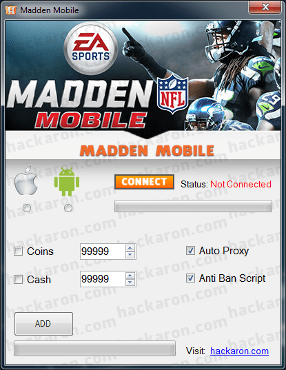 madden mobile coins hack no survey